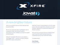 Jowst acquired by Xfire