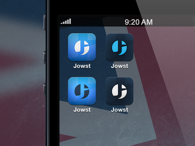 Jowst App Icon, Variations
