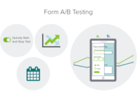Form A/B Testing Illustrations