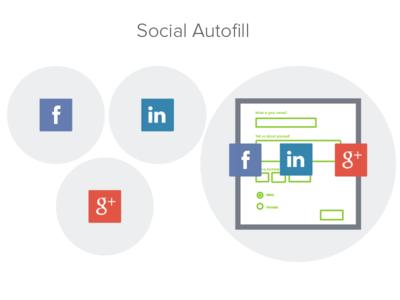Social Autofill Illustrations formstack