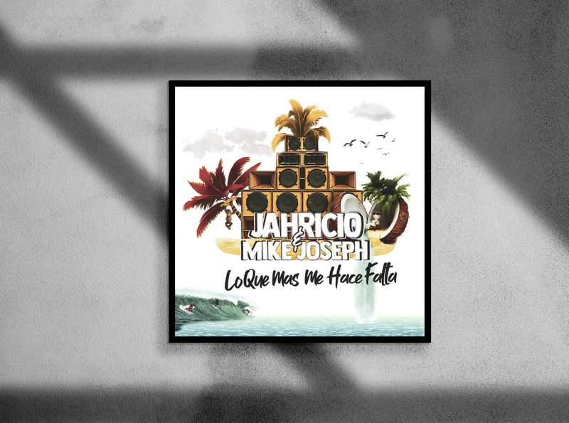 JAHRICIO X MIKE JOSEPH - COSTA RICA ARTIST NEW RELEASE SONG artist design costarica