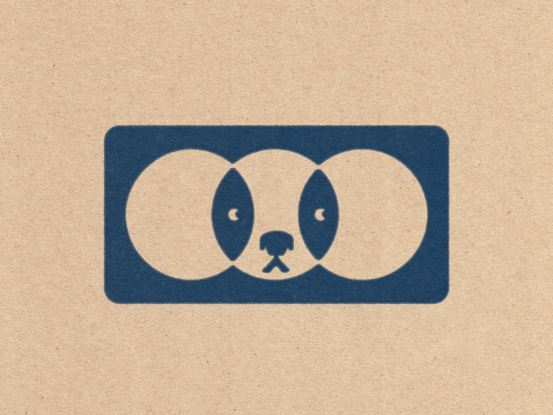 Doggo Vision dogs vintage illustration branding