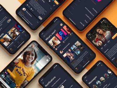 Social App for Live-streaming Video