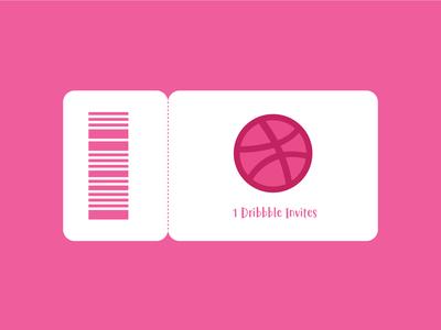 1 Dribbble Invites