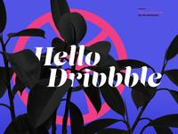 Hello, Dribbble - Debut