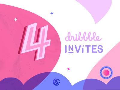 (Ended) 4 Dribbble Invites