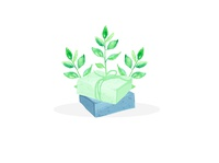 Herbs Soap Logo