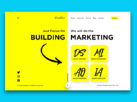 Digital Marketing Agency Website Concept