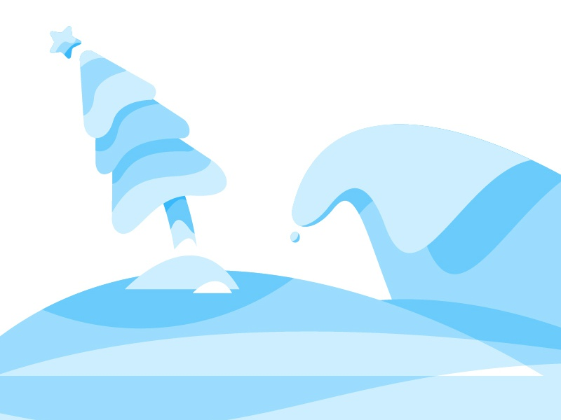 Something Christmasy monocolor drop wave beach summer australia christmas