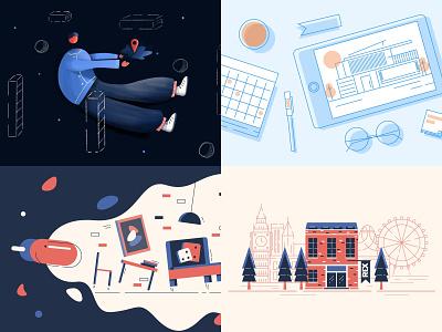 2018 design top4 2018 trends illustration