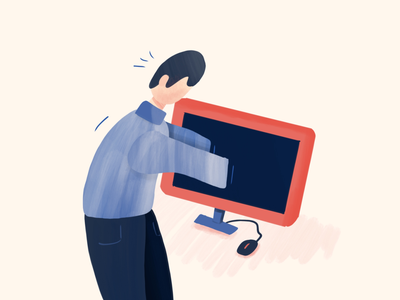 Being an Interaction Designer in 2019 illustration stuck