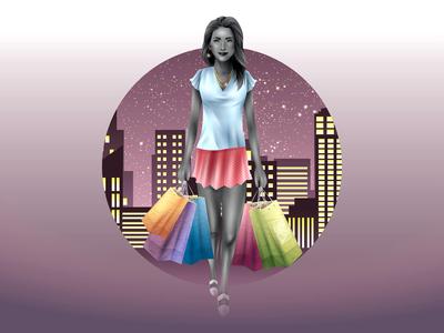 Shopping Gal Night