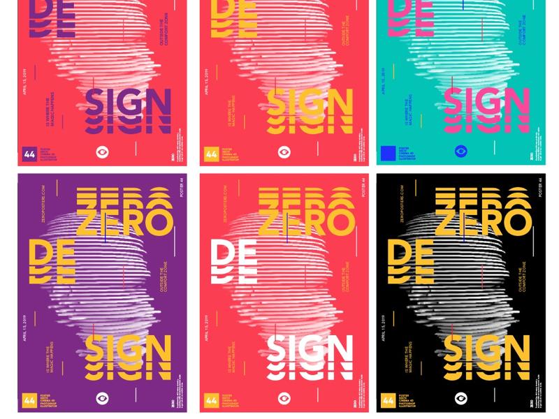 Zero Head c4d 3d zeroposters design poster