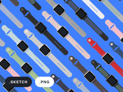 Apple Watch 2 on Facebook Design sketch vector watch apple facebook device design