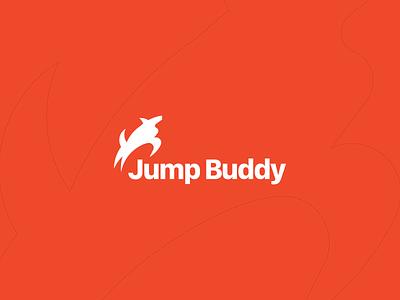 Jump Buddy Logo dog mark animal logo symbol word mark identity exploration typography onexcell typeface logo design logo brand strategy brand identity design brand agency brand