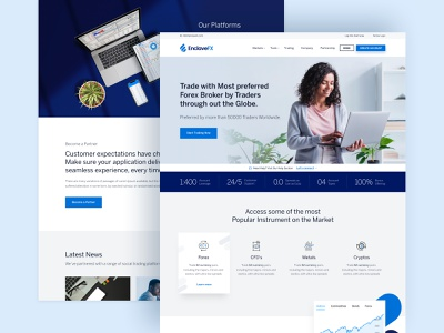 Enclave FX - Home Page onexcell forex broker website forex web design website web design web ux design ux ui design ui products interface