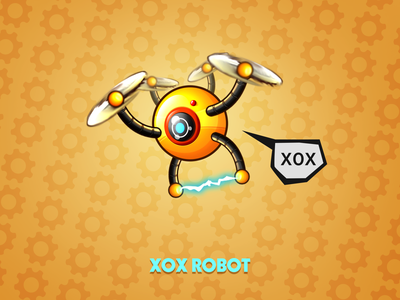 XOX - robot ( weekly warm-up )