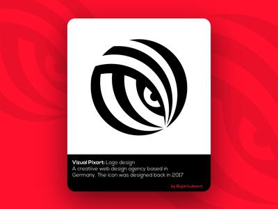 Logo design for VizualPixart