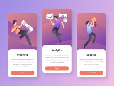 Onboarding for business app