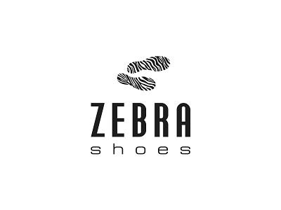 ZEBRA SHOES zebra shoes store shoes logo shoes brand shoes logotype design logotype logos logo design logo agency logo branding design branding concept branding agency branding brand design