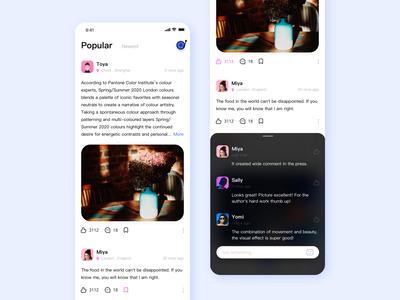 Popular feed