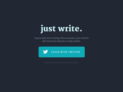 just write ... login