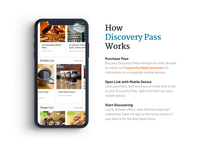 Discovery Pass : How It Works