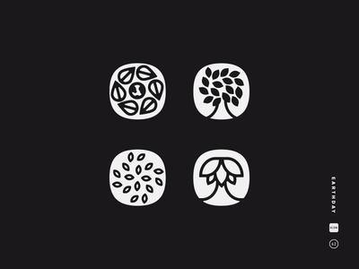 Earthday Icons