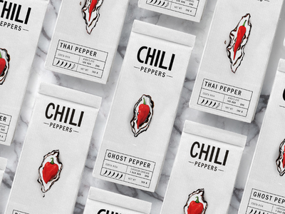 Chili Pepper Package package  pepper sophiscated
