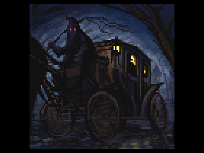 Midnight carriage ride