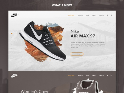 Nike - Online Store Concept