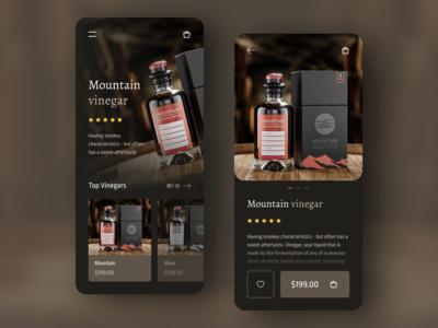 Branded Vinegar Selling App