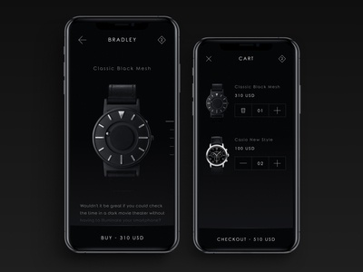 Watches Shop Mobile App