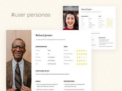 User personas model