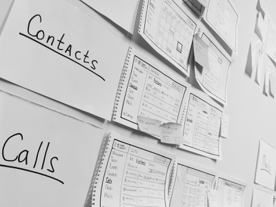 Scrap from work: Wireframes structuring structuring structure moodboard calls contacts prototypes wireframes
