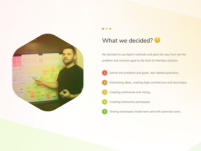 UX: Define the goal storyboard steps working plan plant define the goal user experience ux