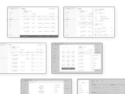 Scrap from work: Prototyping screens uxui ux interface interaction wireframes prototyping prototypes