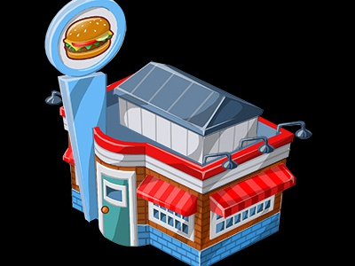 Diner animation