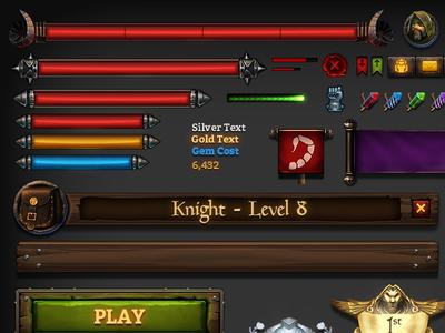 KingsRoad UI Elements