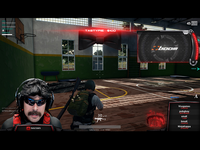 Dr Disrespect Twitch Overlay Concept