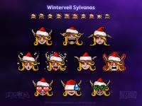 Winterveil Sylvanas Emojis