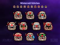 Winterveil Stitches Emoji