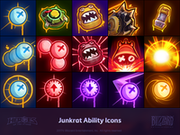 Junkrat Ability Icons
