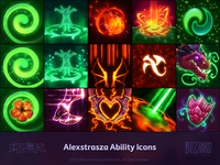 Alexstrasza Ability & Talent Icons