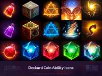 Deckard Cain Ability Icons