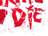 Love Skate Die | Break Bricks Type Design