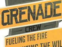 Grenade Apparel designs (spec)