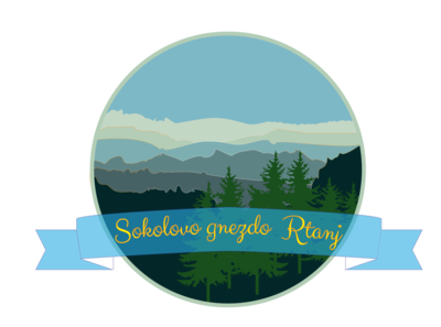 Logo for mountain resort apartments