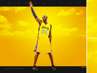 """COLOR BOUND"" Kobe Bryant artwork"