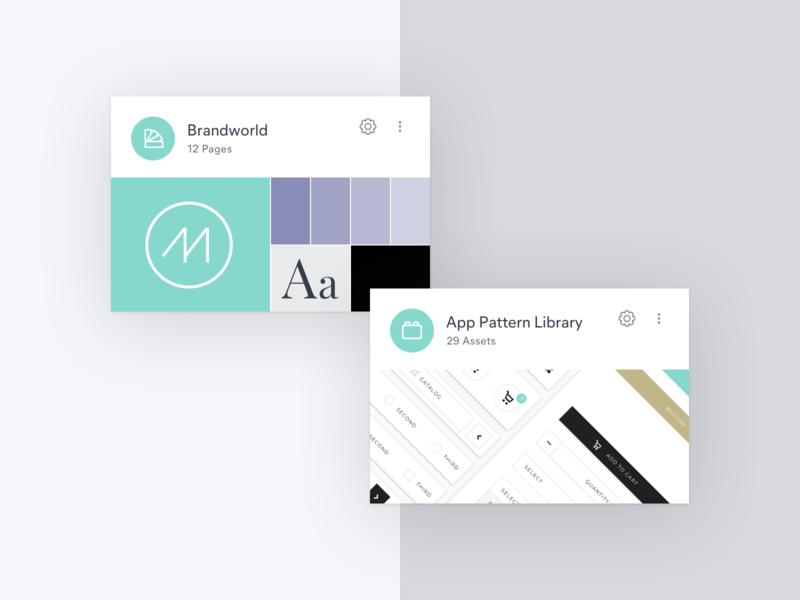 Dashboard Cards ui product design branding